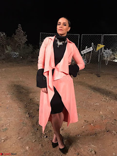Neha Dhupia In Fahd Khatri on the sea of roadies Rising (2) ~ .jpeg