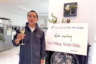 Đặng Xuân Diệu  - thành viên tổ chức khủng bố Việt Tân