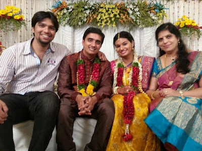 Singer Krishna Chaitanya and Anchor Madhu Mrudula Engagement2