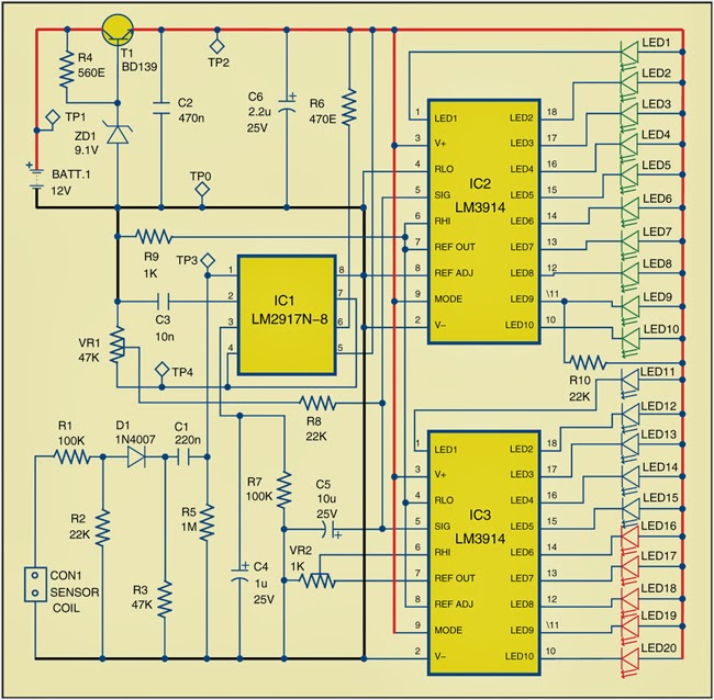 RPM+Meter+for+Automobiles+Circuit+Diagram+2 led diode wiring diagram led module wiring diagram wiring diagram led module wiring diagram at n-0.co