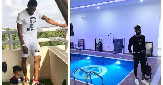 Update :See The Swimming Pool D'banj Son, Daniel D'Third got Drowned While D'banj Was In USA