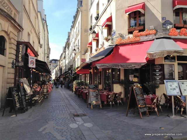 calles bonitas de París