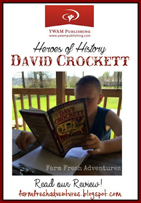 Heroes of History~ David Crockett: Product Review