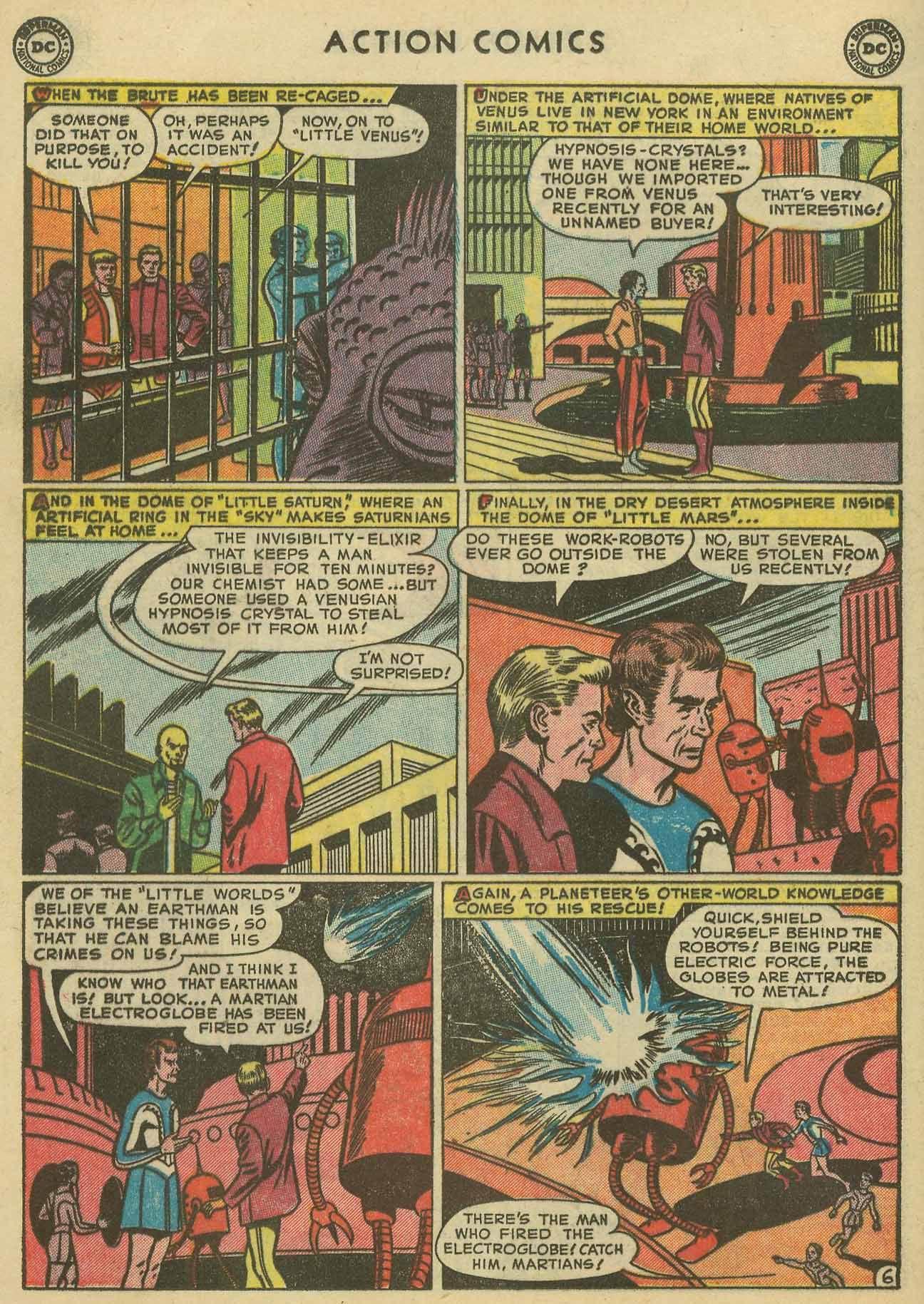 Action Comics (1938) 160 Page 21