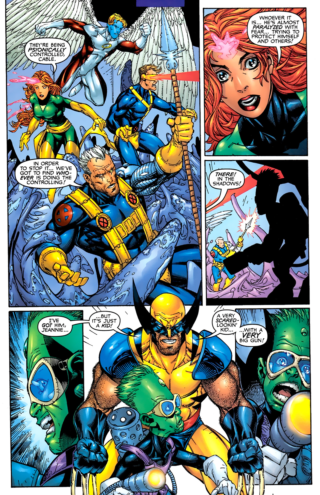Read online Astonishing X-Men (1999) comic -  Issue #1 - 13