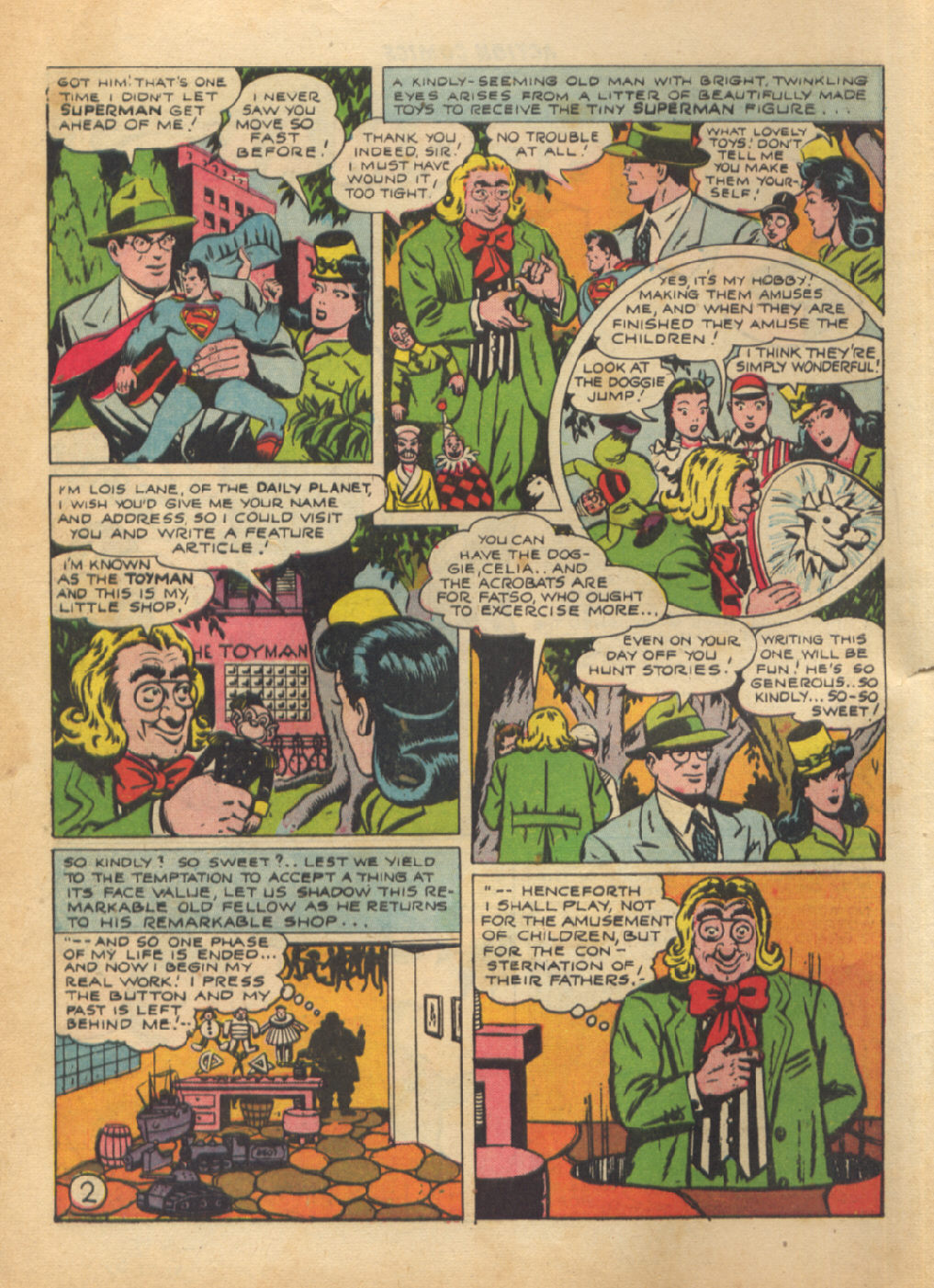 Read online Action Comics (1938) comic -  Issue #64 - 4