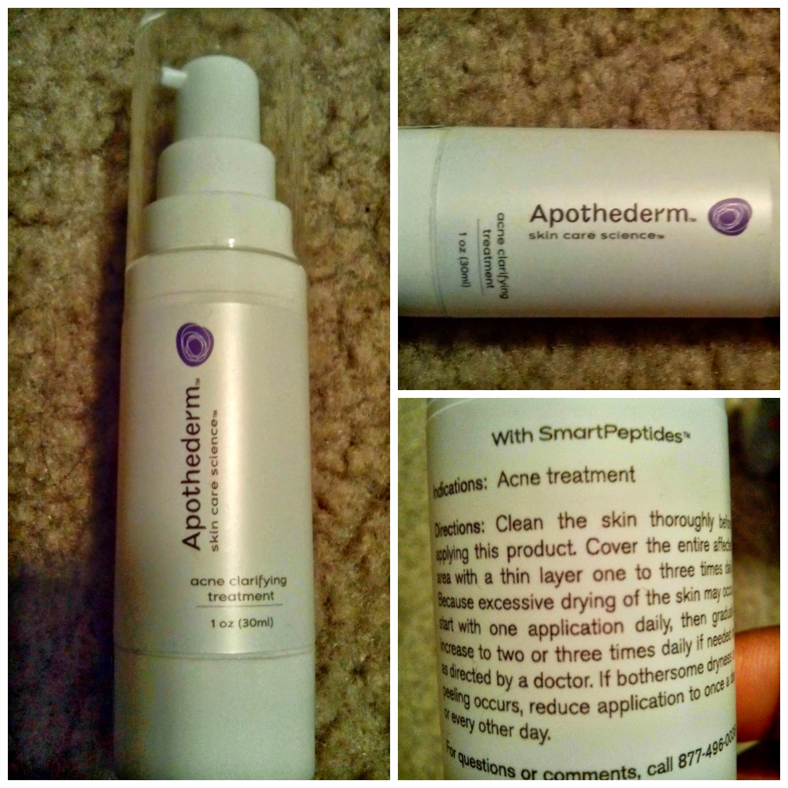 Apothederm, Skin Care, Science, Acne, Clarifying, Treatment, Acne treatment,