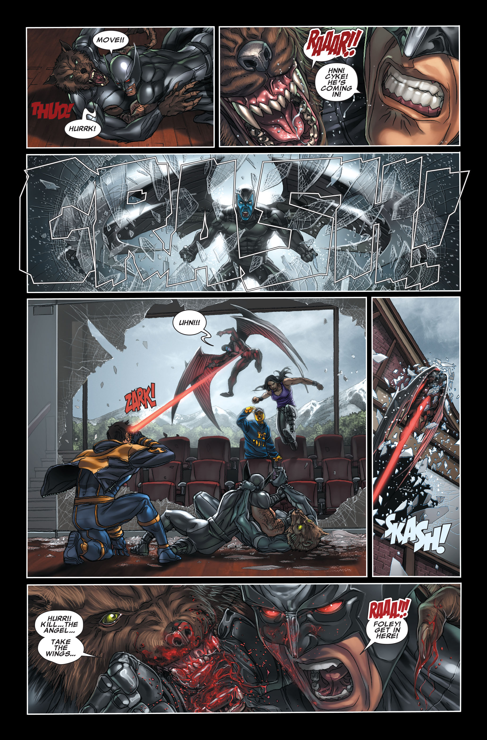 Read online X-Force (2008) comic -  Issue #7 - 9