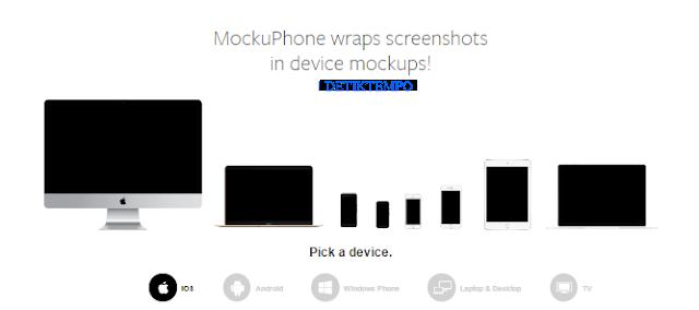 5 Screenshot Aplikasi Untuk App Store