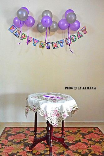 Lya Afrina Asya 3rd Birthday Bash Dekorasi