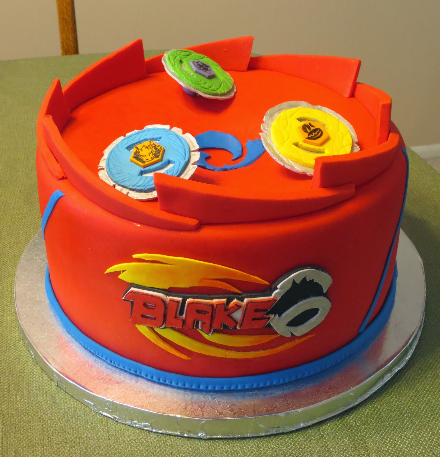 Beyblade Cake Ideas
