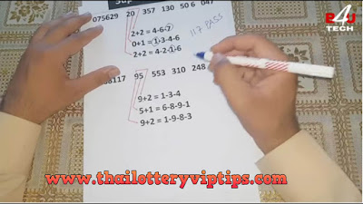 Thai lottery Only 4 Set 3UP formula sure Tips 01 October 2018