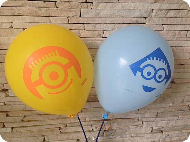 Decoração Festa dos Minions : Balões da Festcolor