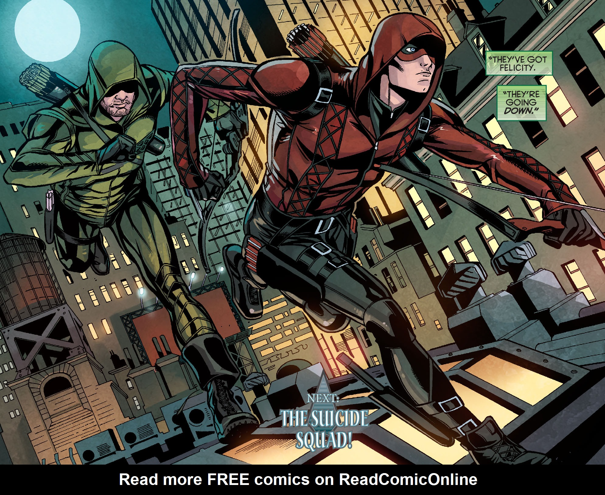 Read online Arrow: Season 2.5 [I] comic -  Issue #10 - 20