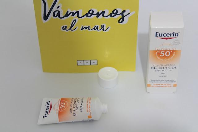 eucerin oil control sun gel