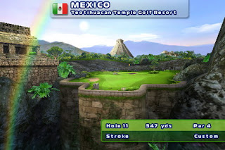 Let's Golf! 2 iPhone game available for download 2
