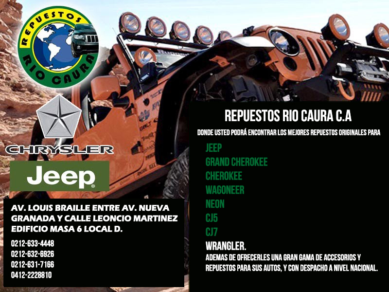 REPUESTOS RIO CAURA C.A  en Paginas Amarillas tu guia Comercial