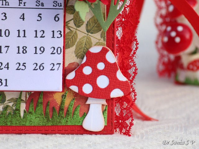 Handmade Calendar Tutorial : Cards crafts kids projects diy desk calendars