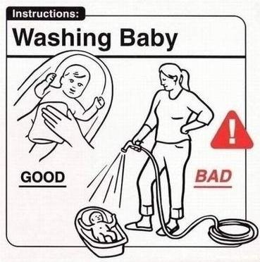 Essential Baby Owner Guide Instructions ~ Funny Joke Pictures