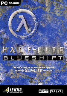 La jaquette de Half-Life : Blue Shift