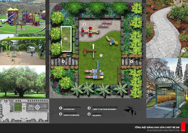 Cảnh quan được chú trọng thiết kế tại city of dream