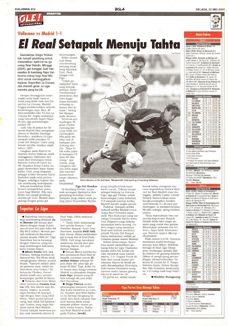 SPAIN LA LIGA VALLECANO VS MADRID 1-1