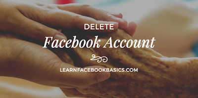 Delete My Page On Facebook