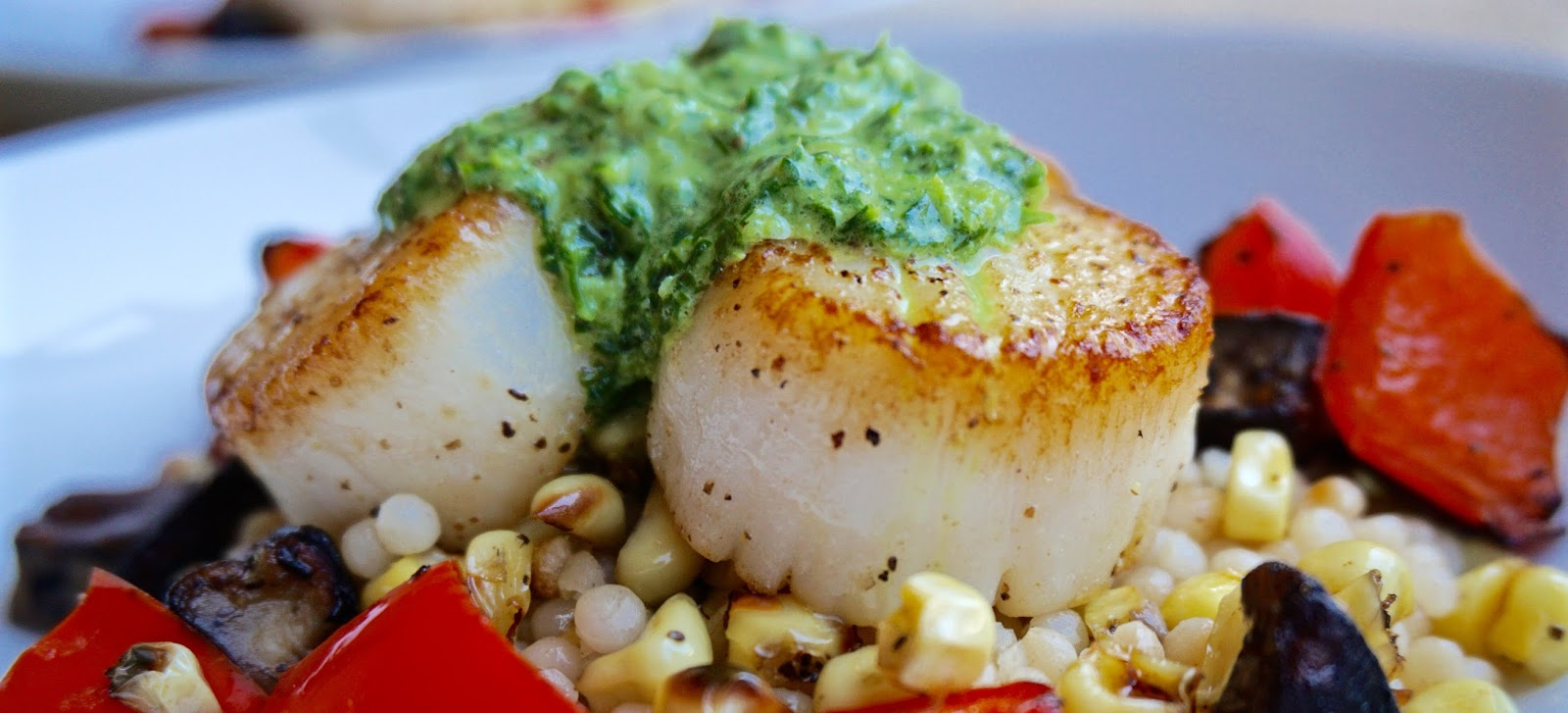 This Couple's Palate: Summer Seafood: Scallops