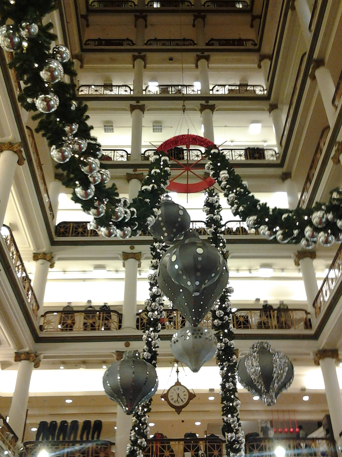 Chicago Macy's Christmas Decorations