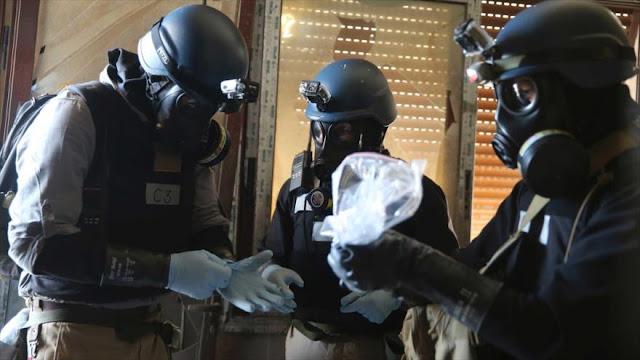"""""""EEUU omite uso de sustancias tóxicas por terroristas en Siria"""""""