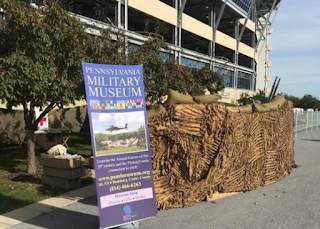 PMM trench display at Beaver Stadium