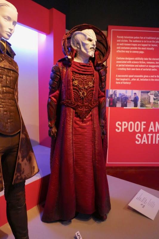 Orville season 1 Sazeron costume