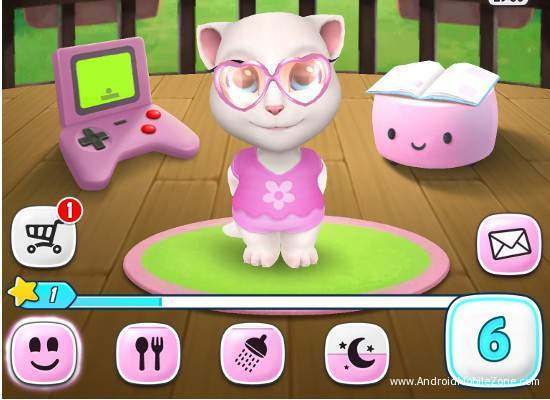 download my talking angela game