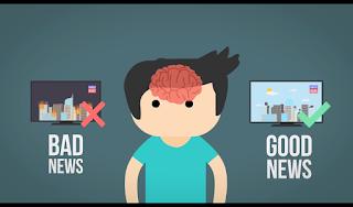 Otak Kita lebih suka terhadap berita buruk