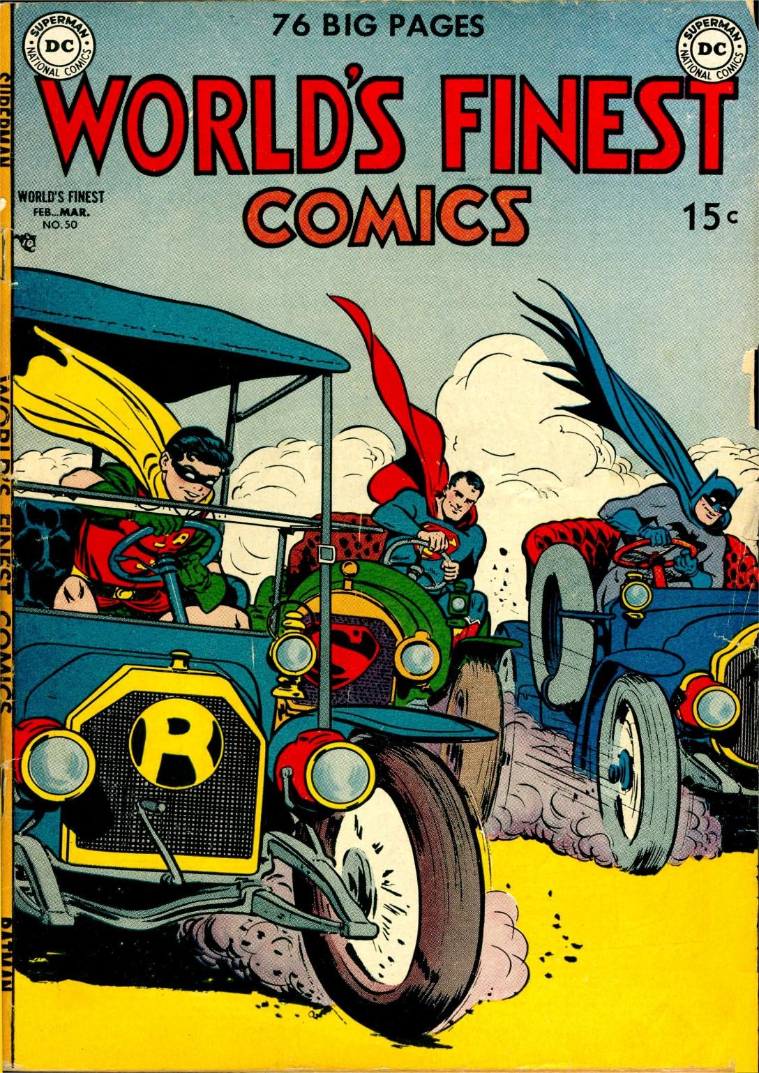 Read online World's Finest Comics comic -  Issue #50 - 1