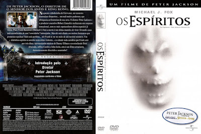 Filme Os Espíritos (The Frighteners) DVD Capa