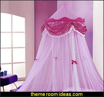 Jeanie in a bottle Princess Canopy  Bed canopy -  Bed Canopies - Bed Crown - Mosquito Netting - Bed Tents - Canopy Beds - Post Bed Canopies - Luxury Canopy netting   - girls bed canopy - Bed Curtains - Curtain Canopy
