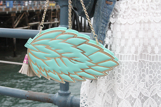 Kate Spade Full Plume Mint Leaf Crossbody | Will Bake for Shoes
