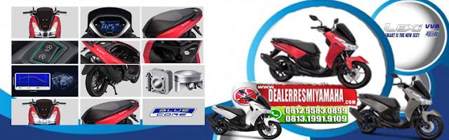 Kredit Motor Yamaha Lexi 125, Harga Cash Dan Kredit Motor Yamaha Lexi