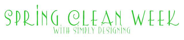 spring clean week logo Spring Cleaning Week 5