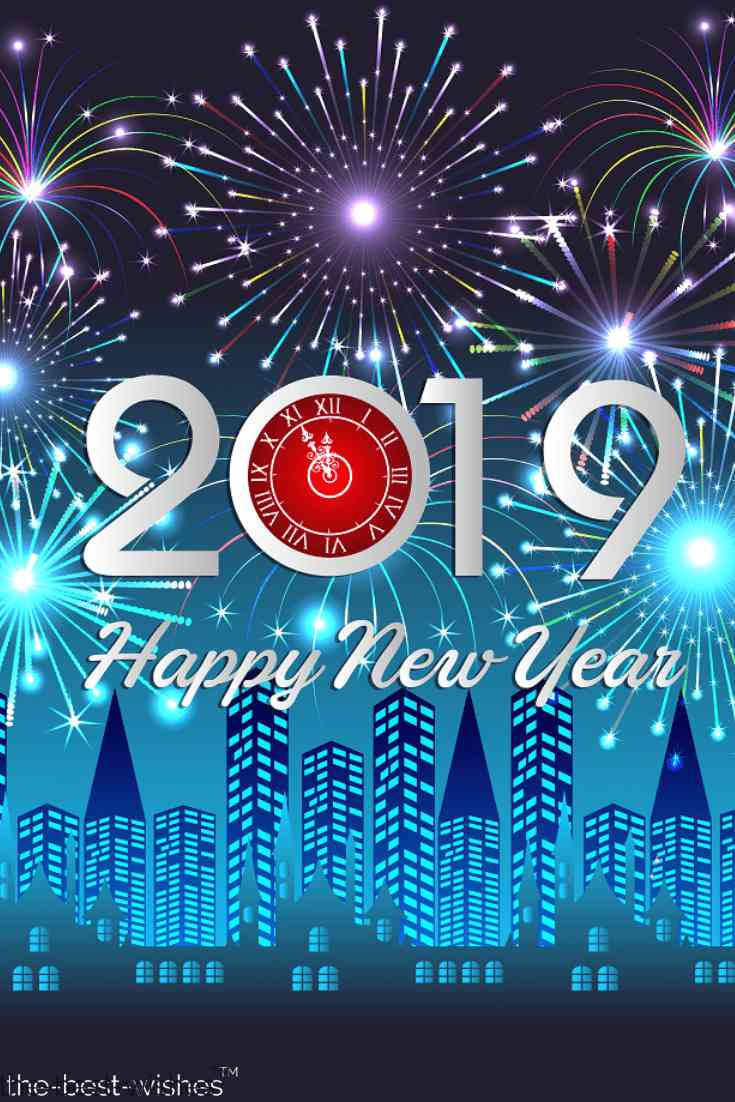 stunning happy new year 2019 pic