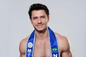 Alexandre Bertolla é eleito Mister Model Nacional 2017