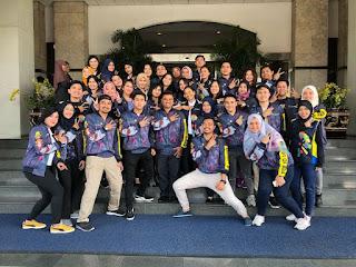 AP II  Adakan Flash Mob di Bandara Sutta, Sambut  Penumpang Asian Games