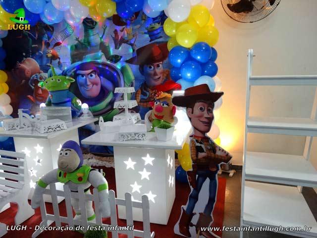 Decoração Toy Story para festa de aniversário