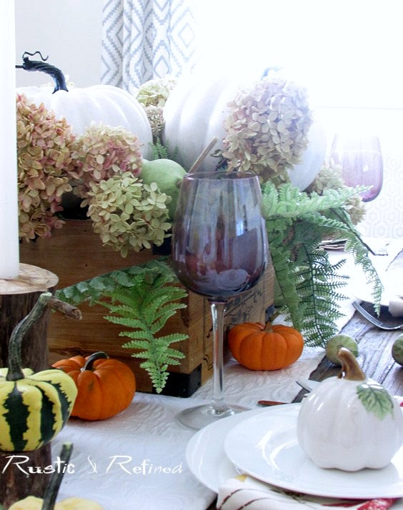 Tablescape for entertaining