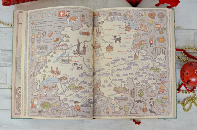 Christmas Gift Guide for a Six year old - Maps book