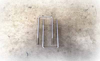 """Rush Order U Bolts - 3/8 X 9"""" Custom Square U Bolts in 304 Stainless Steel Material"""
