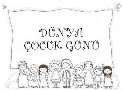 Dunya Resmi Boyama Egitimhane Coloring Free To Print
