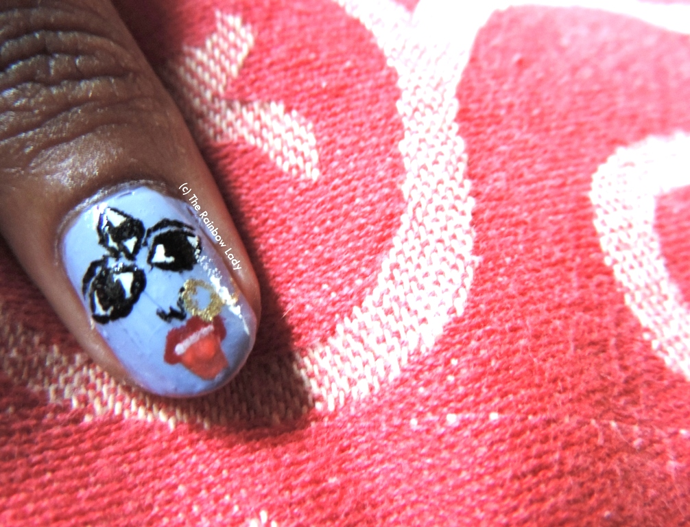 Kali Puja Inspired Nail Art Happy Diwali To All The Rainbow Lady Blog