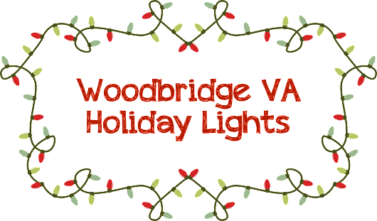 Woodbridge, VA Holiday Lights - Claudia S. Nelson